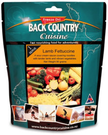 Back Country Cuisine Lamb Fettuccine